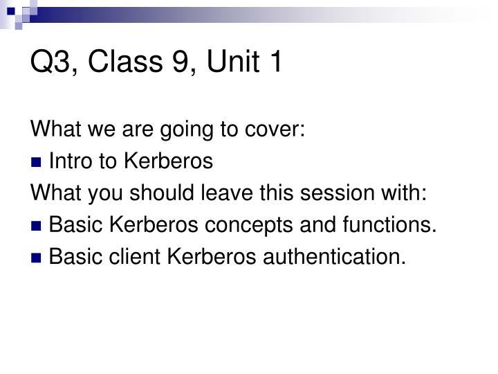 Q3, Class 9, Unit 1