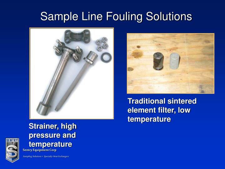 Sample Line Fouling Solutions