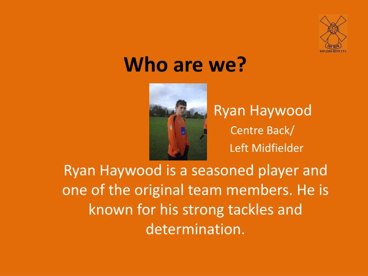 Ryan Haywood
