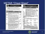 metar cheat sheet