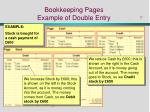 bookkeeping pages example of double entry