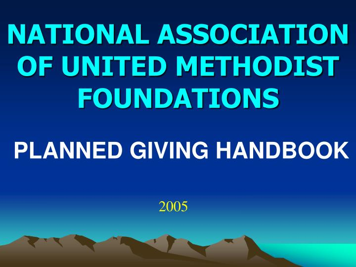 national association of united methodist foundations n.