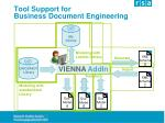 tool support for business document engineering