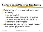 texture based volume rendering1