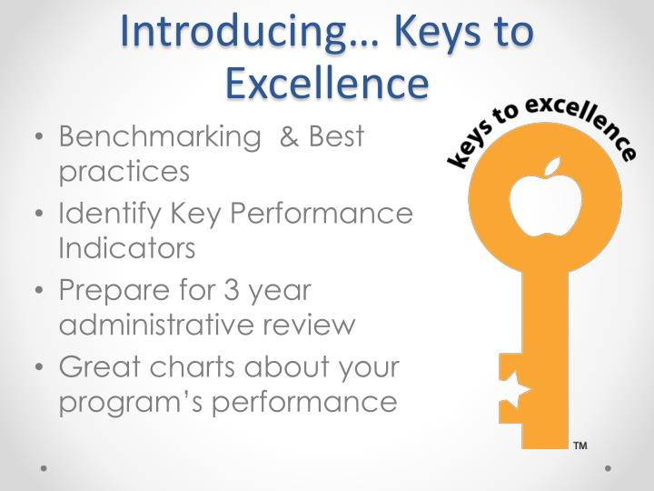 Introducing… Keys to Excellence