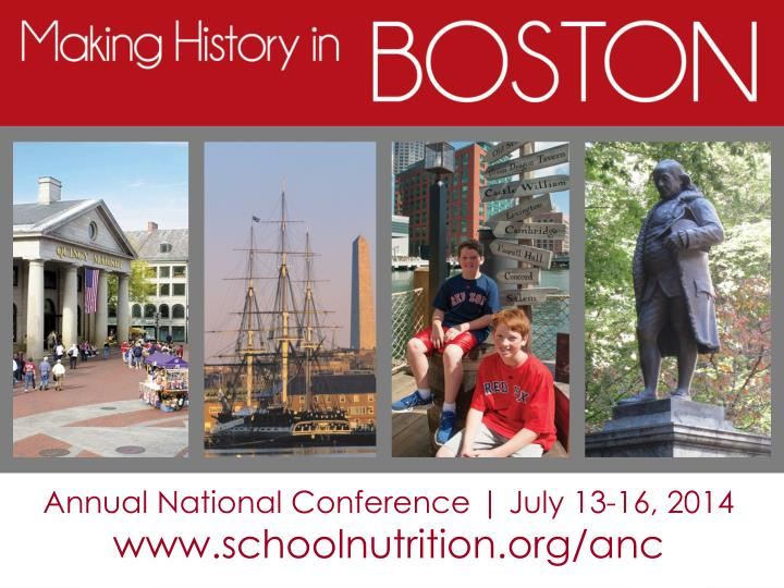 Annual National Conference | July 13-16, 2014