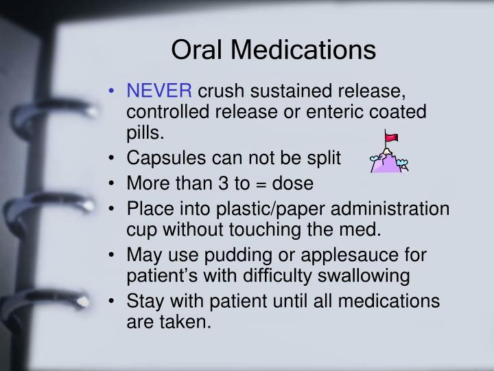 Oral Medications