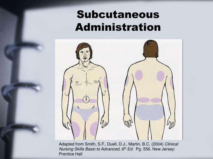 Subcutaneous Administration