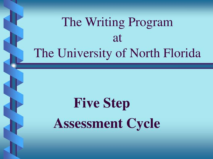 The Writing Program