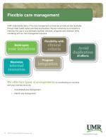 flexible care management