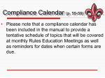 compliance calendar p 55 59