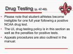 drug testing p 47 49
