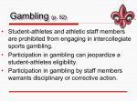 gambling p 52