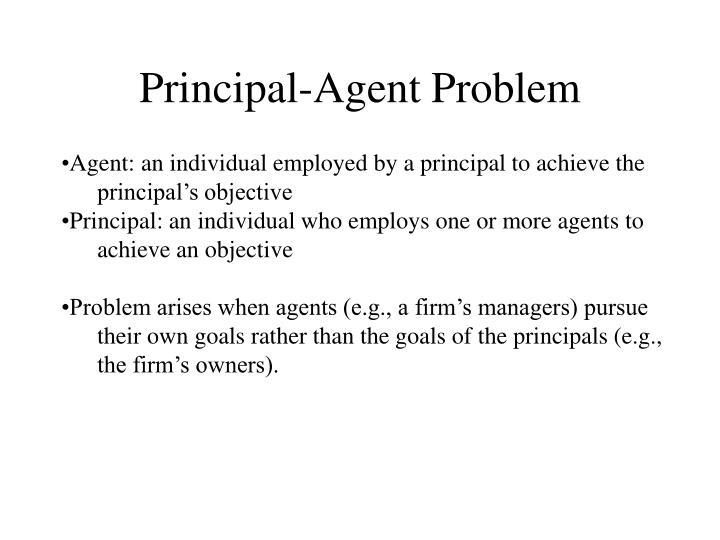 Principal-Agent Problem