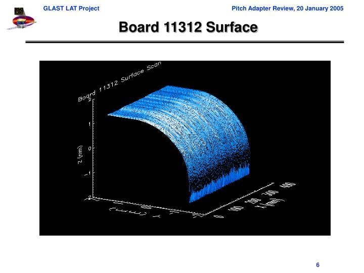 Board 11312 Surface
