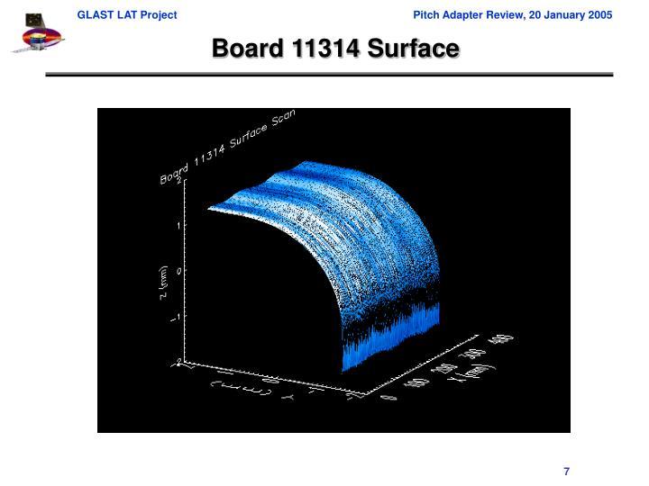 Board 11314 Surface
