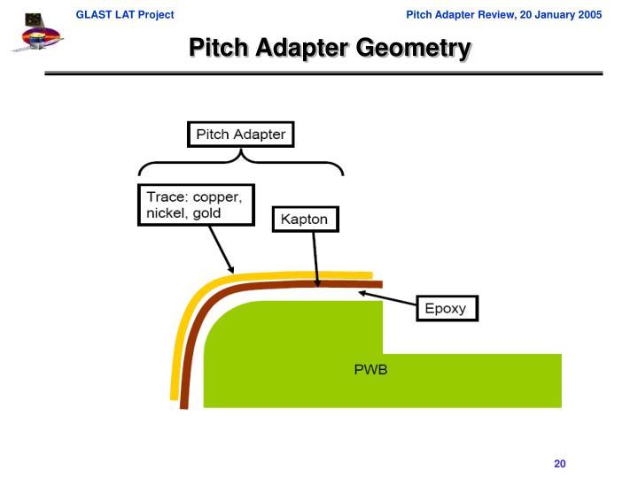 Pitch Adapter Geometry