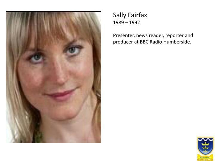 Sally Fairfax