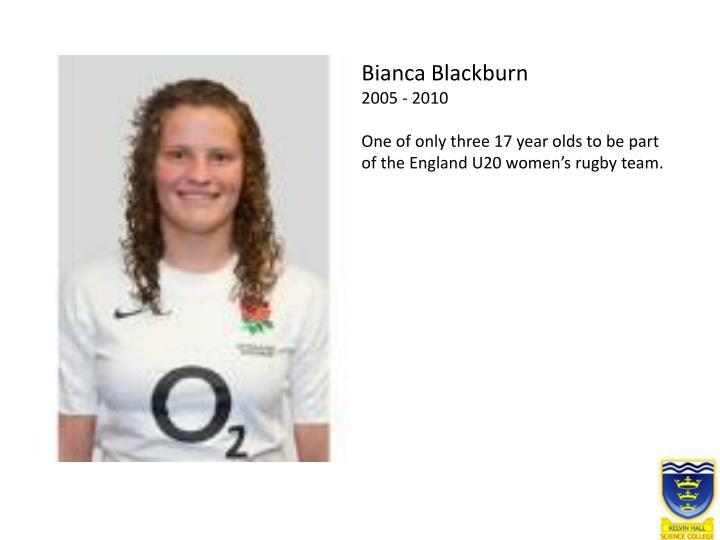Bianca Blackburn