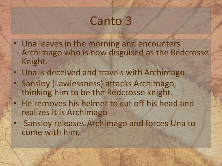 Canto 3