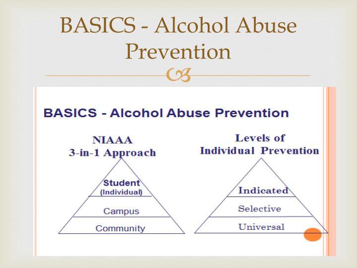 BASICS - Alcohol Abuse Prevention