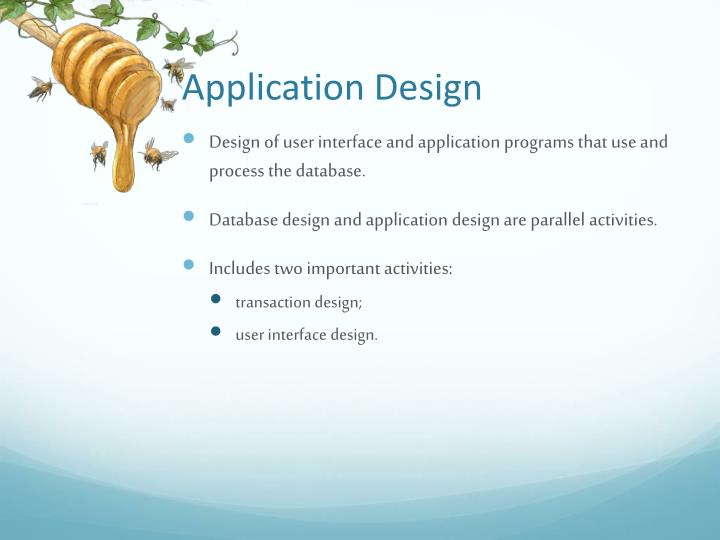 Application Design