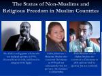 the status of non muslims and religious freedom in muslim countries