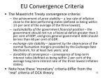 eu convergence criteria
