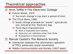 theoretical approaches1