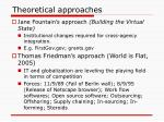 theoretical approaches3