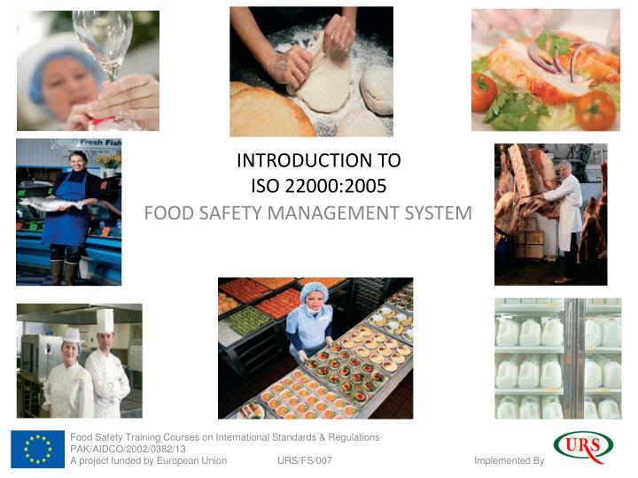 introduction to iso 22000 2005 n.