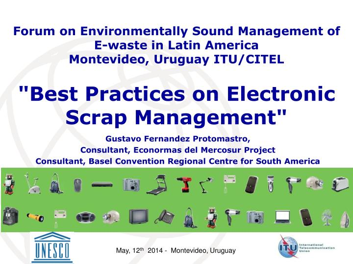 best practices on electronic scrap management n.
