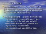 elements of training4
