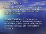 elements of training6