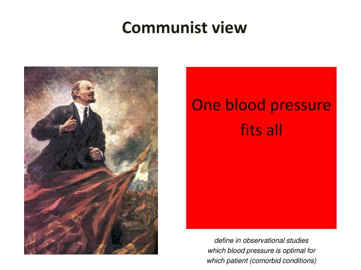 Communist view