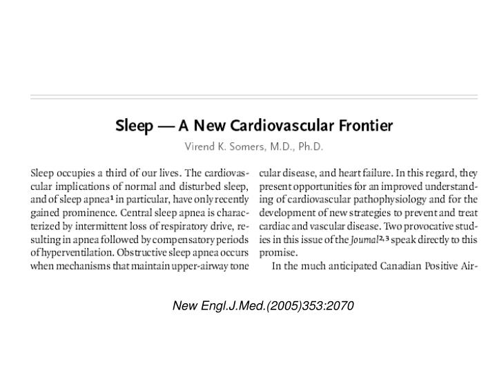 New Engl.J.Med.(2005)353:2070