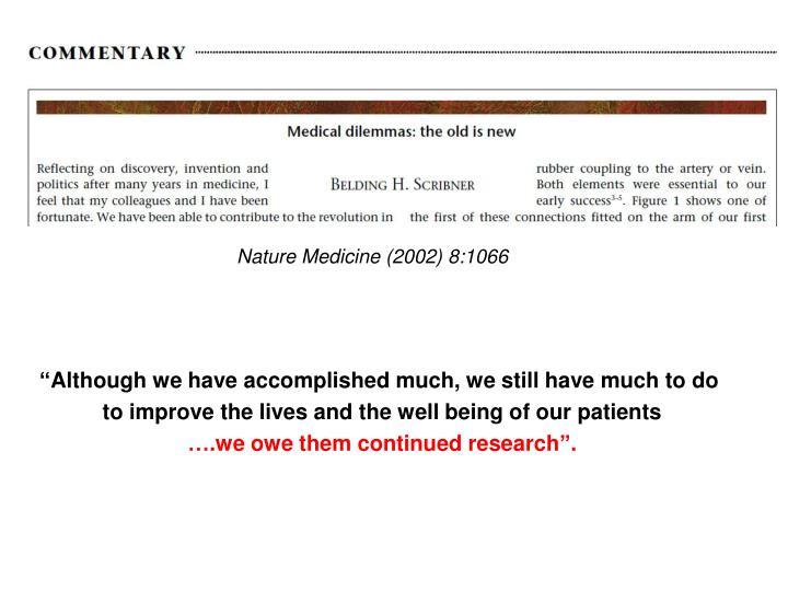 Nature Medicine (2002) 8:1066