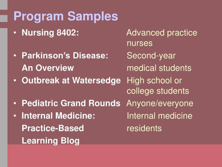 Nursing 8402: