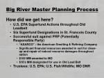 big river master planning process