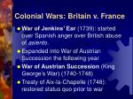 colonial wars britain v france1
