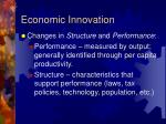 economic innovation