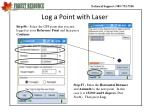 log a point with laser1