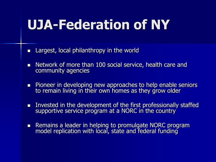 Uja federation of ny