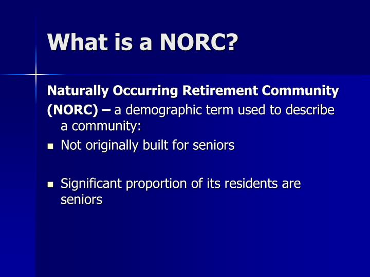 What is a norc