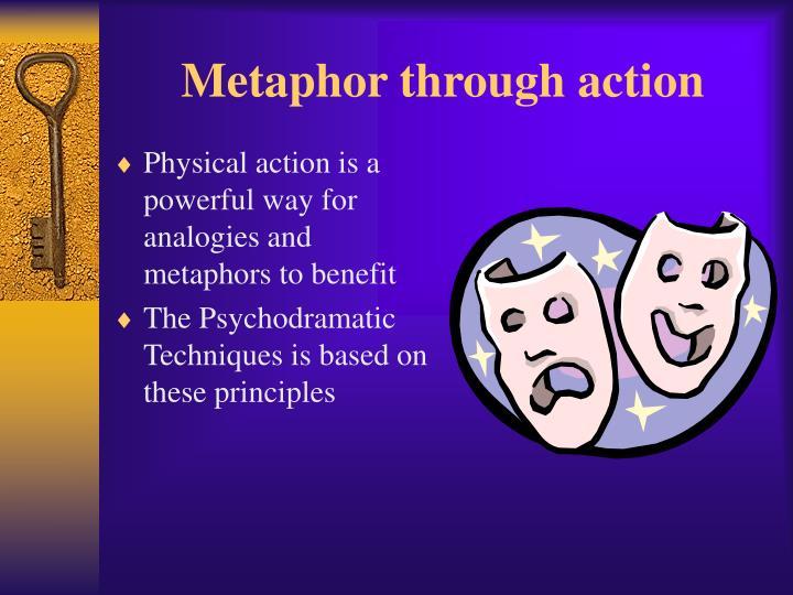 Metaphor through action