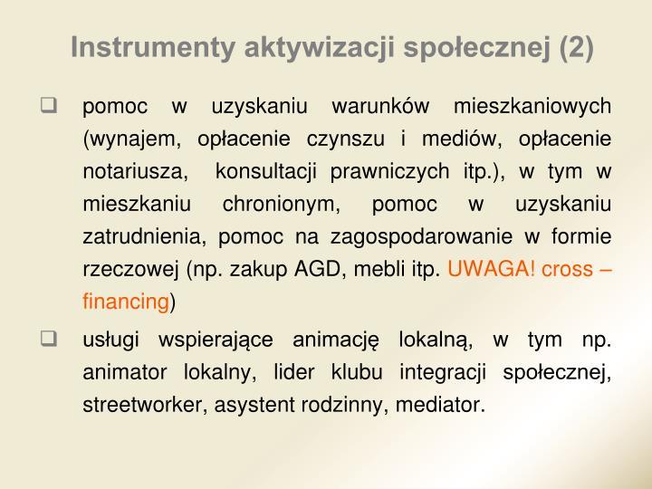Instrumenty aktywizacji społecznej (2)