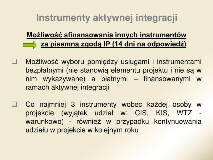 Instrumenty aktywnej integracji