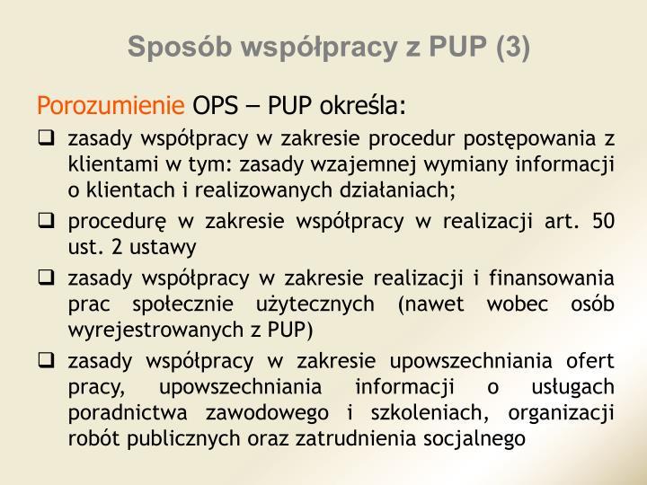 Sposób współpracy z PUP (3)