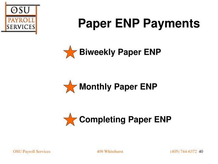 Biweekly Paper ENP