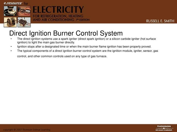 Direct Ignition Burner Control System